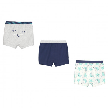 Lot de 3 boxers bébé garçon Pyjama Party