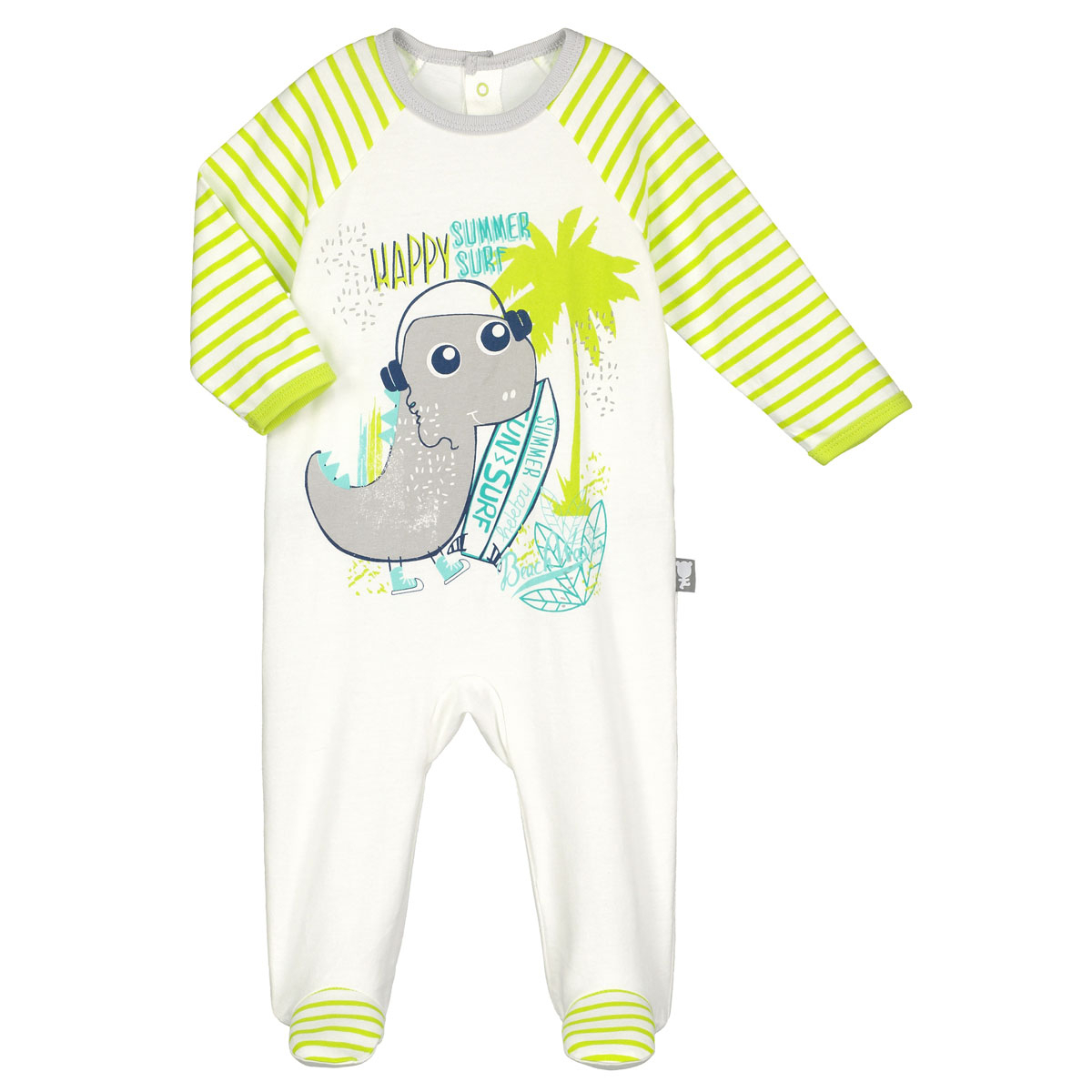 6879a1bcb4f39 Pyjama bébé Dinobeach - PETIT BEGUIN