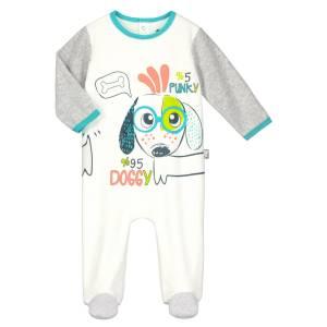 Pyjama bébé velours Doggypunky
