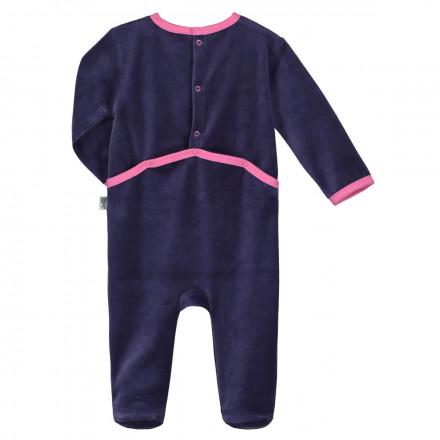 Pyjama bébé velours Chaton