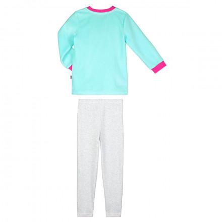Pyjama fille manches longues bleu Petite Rêveuse