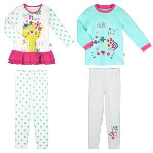 Lot de 2 pyjamas fille manches longues Petite Rêveuse