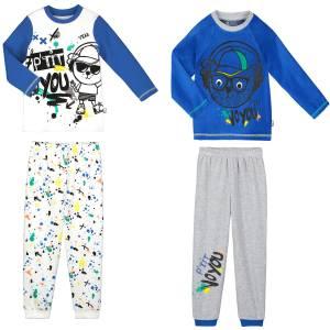Lot de 2 pyjamas garçon manches longues P'tit Voyou