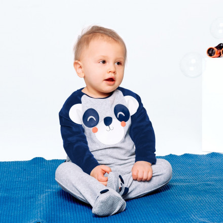 Pyjama bébé velours Skateparty