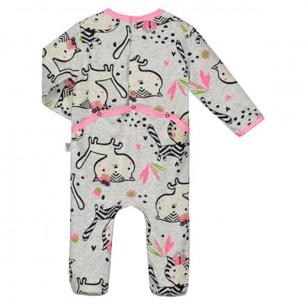 Pyjama bébé Jungle Flowers