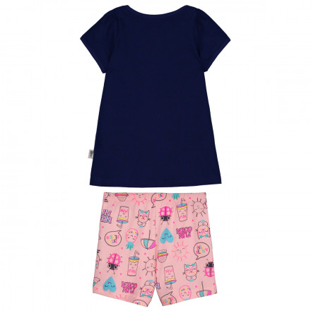 Pyjama fille manches courtes Cool Summer