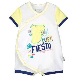 Barboteuse croisée bébé garçon Cuba Fiesta