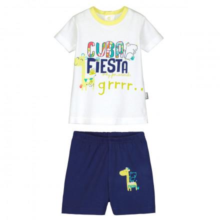 Ensemble bébé garçon t-shirt + short Cuba Fiesta