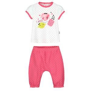 Ensemble bébé fille t-shirt + sarouel Strawberry