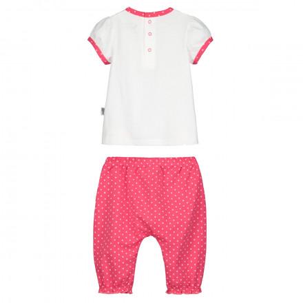 Ensemble bébé fille t-shirt + sarouel Strawberry