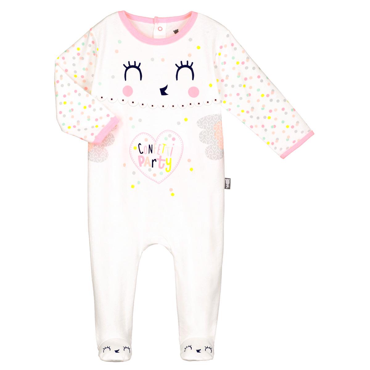 f3b3344ee216d Pyjama bébé Joli Coeur - PETIT BEGUIN