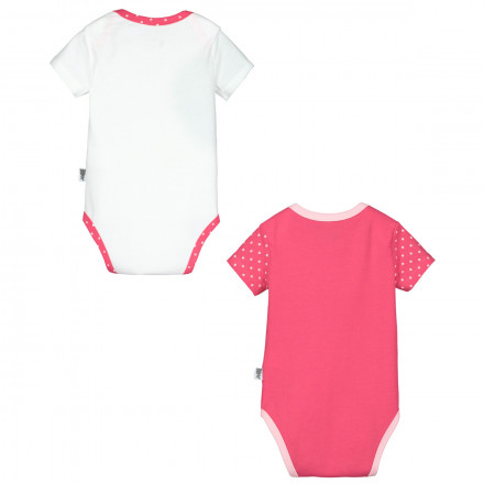Lot de 2 bodies manches courtes bébé fille Strawberry