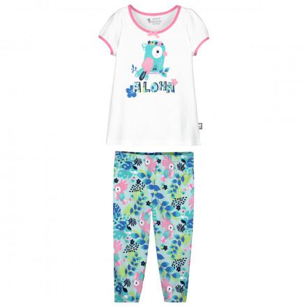 Pyjama fille manches courtes Sun