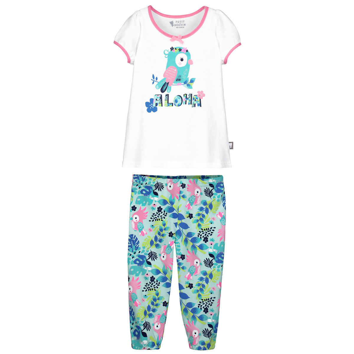 Lot de 2 pyjamas fille Sun