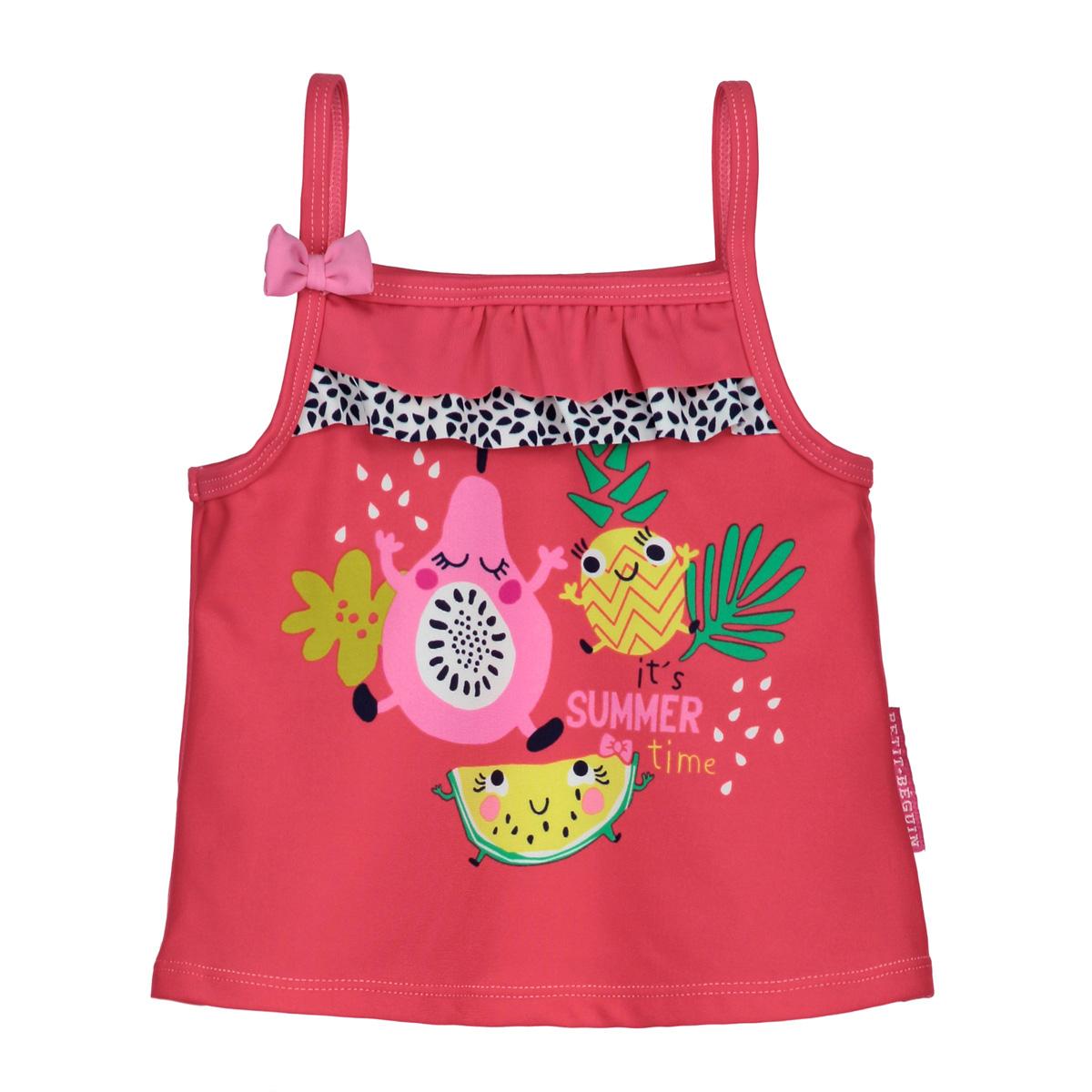 Maillot de bain 2 pièces top + slip bébé fille Fruity Party
