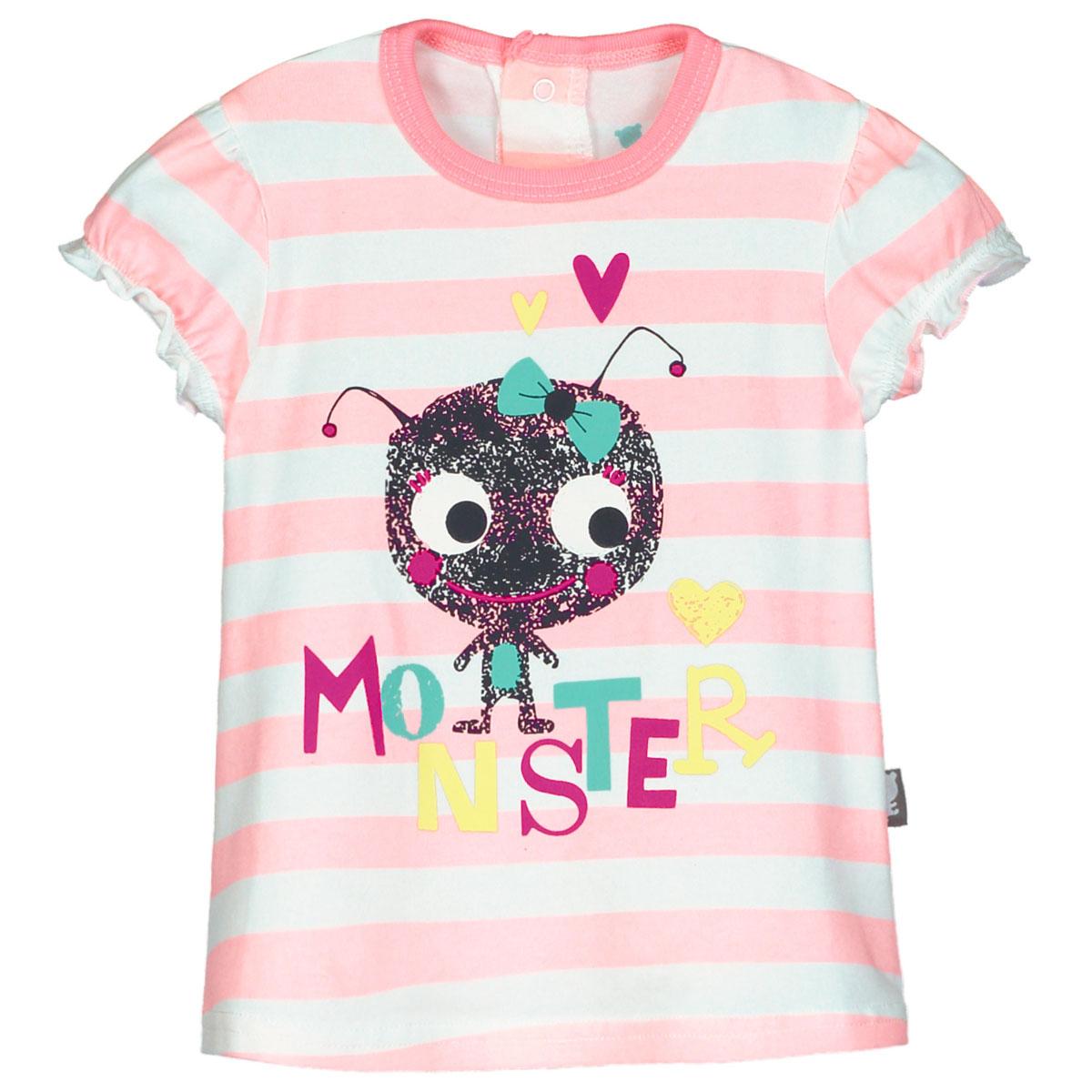 Ensemble t-shirt et pantalon bébé fille Monster