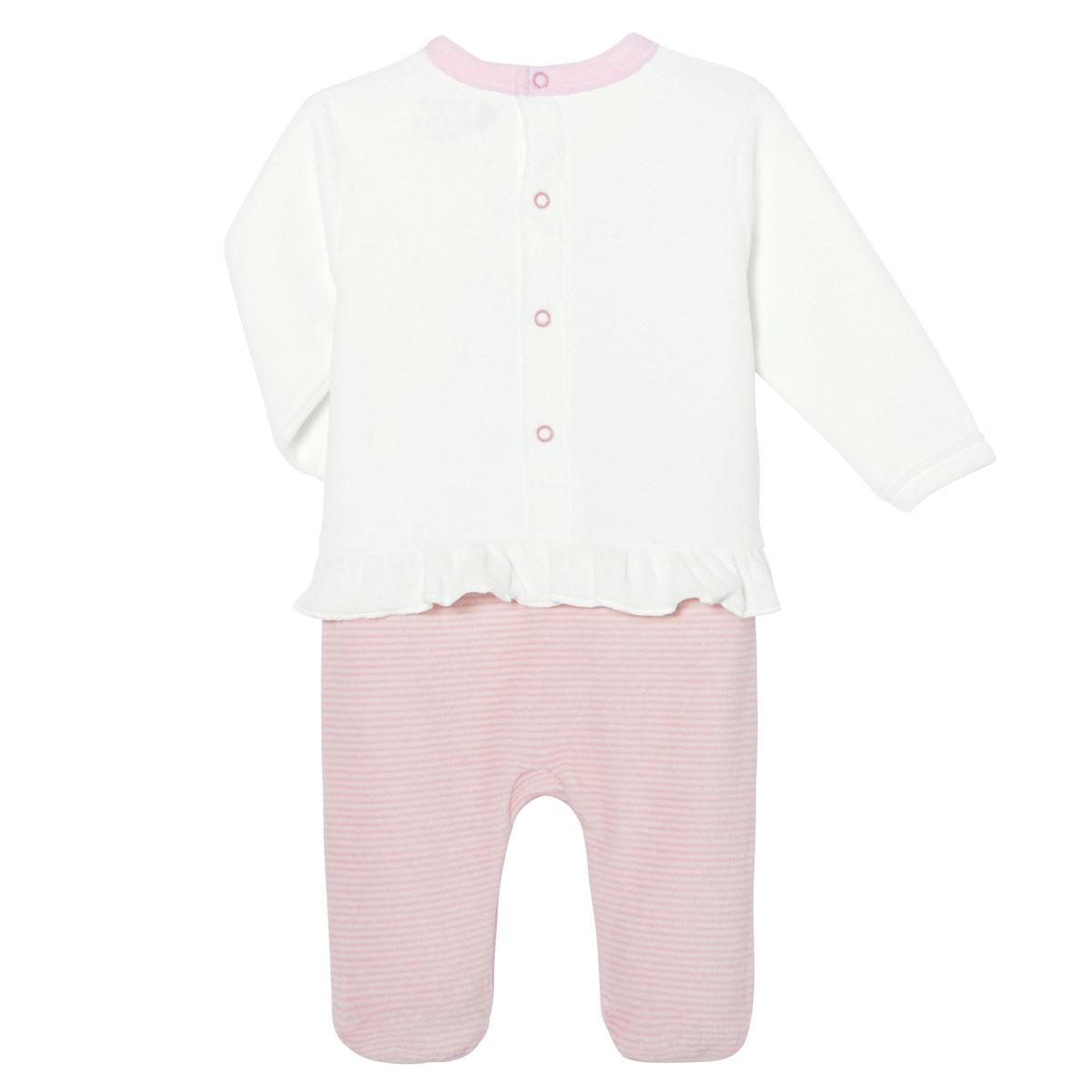 Pyjama bébé velours Petit Biscuit
