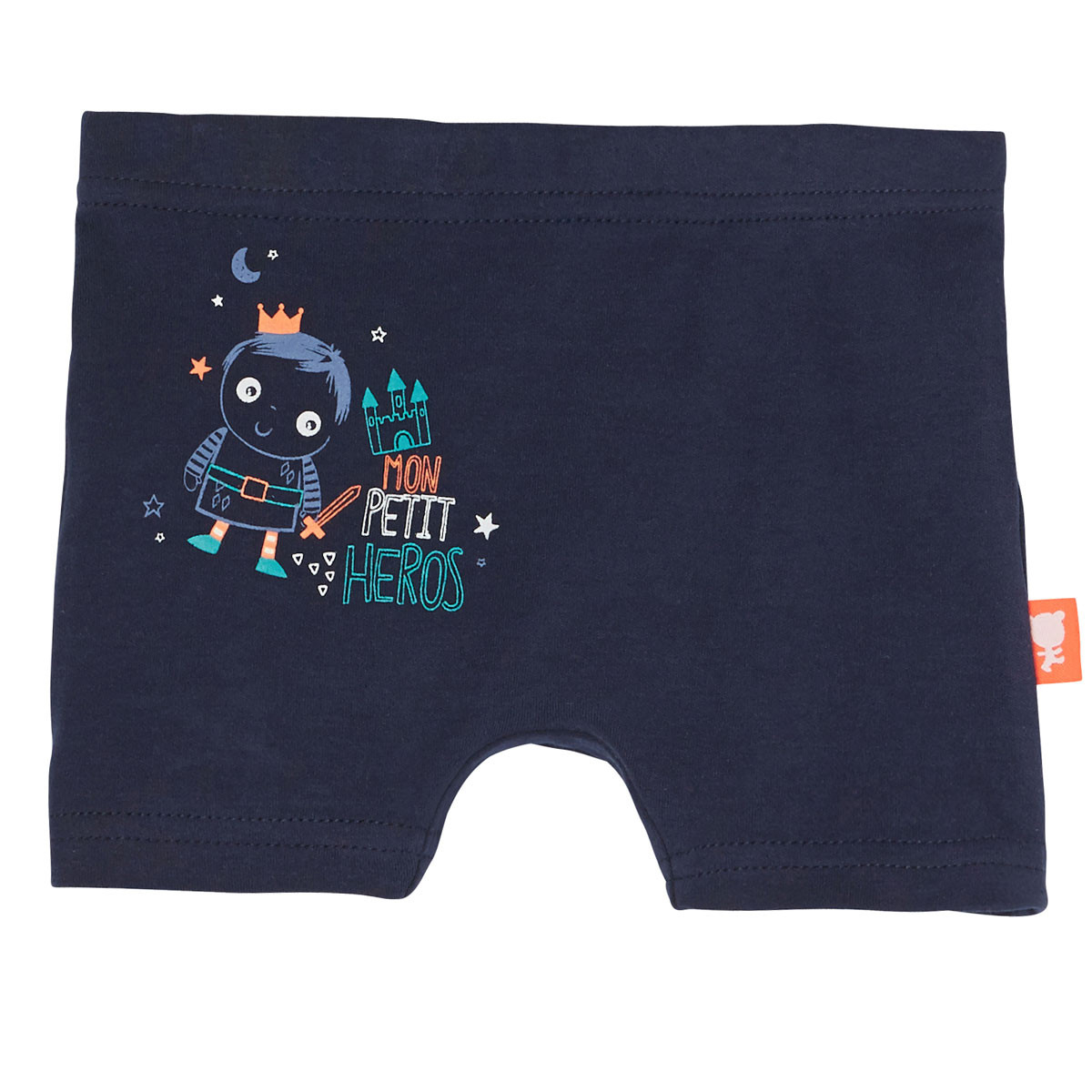 Boxer bleu marine bébé garçon Petit Héros