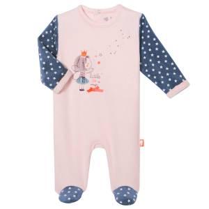 Pyjama bébé velours Star