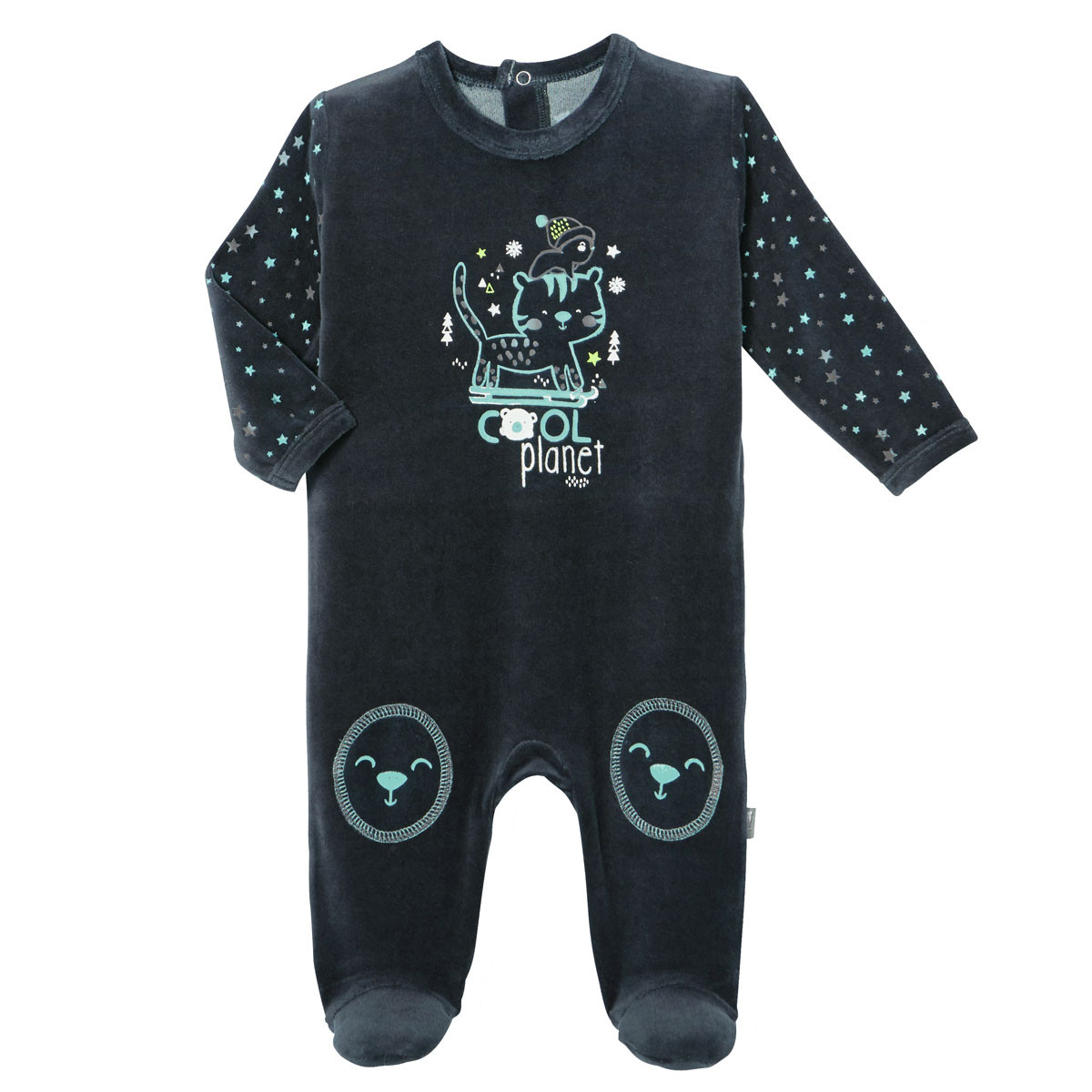 Pyjama bébé velours Cool Planet