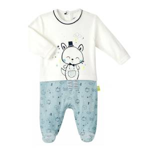 Pyjama bébé garçon velours Magic Party