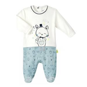 13d49e0e06066 Pyjama bébé garçon velours Magic Party