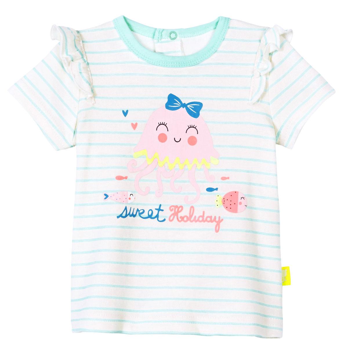 Ensemble bébé fille t-shirt + short Baby Bulle