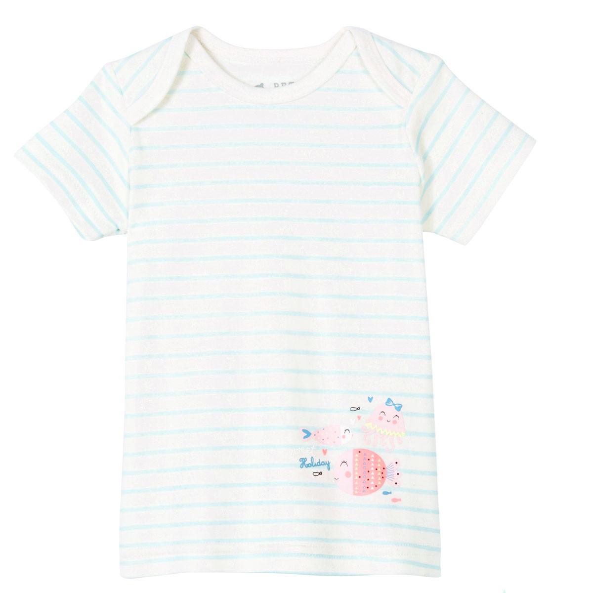 Lot de 2 t-shirt + débardeur bébé fille Baby Bulle