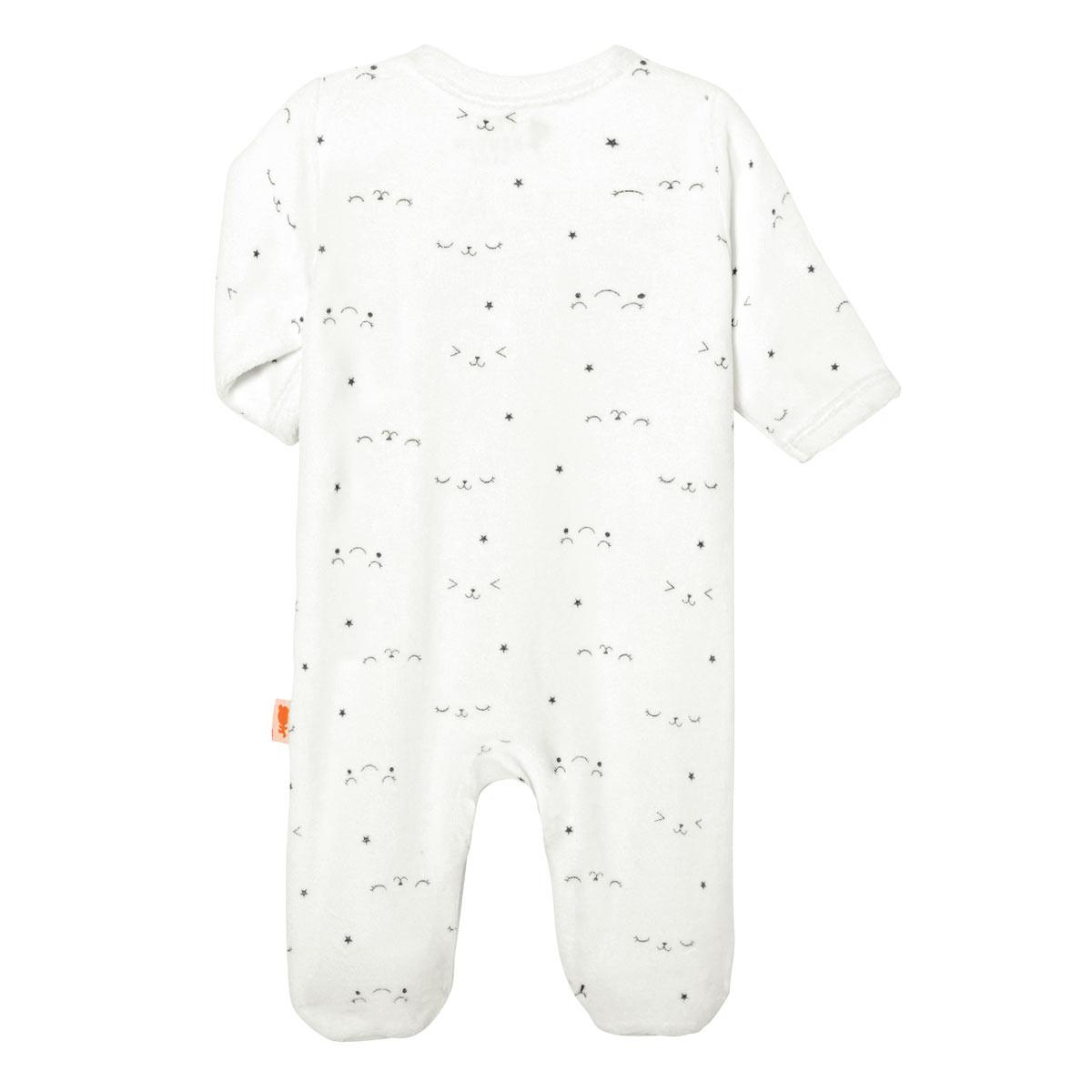 Pyjama bébé velours Little Baby dos