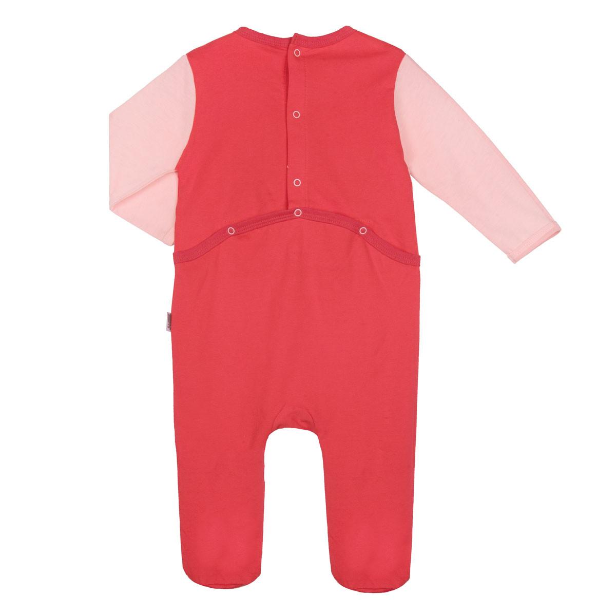 Pyjama bébé framboise Petit Cactus dos