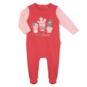 Pyjama bébé framboise Petit Cactus