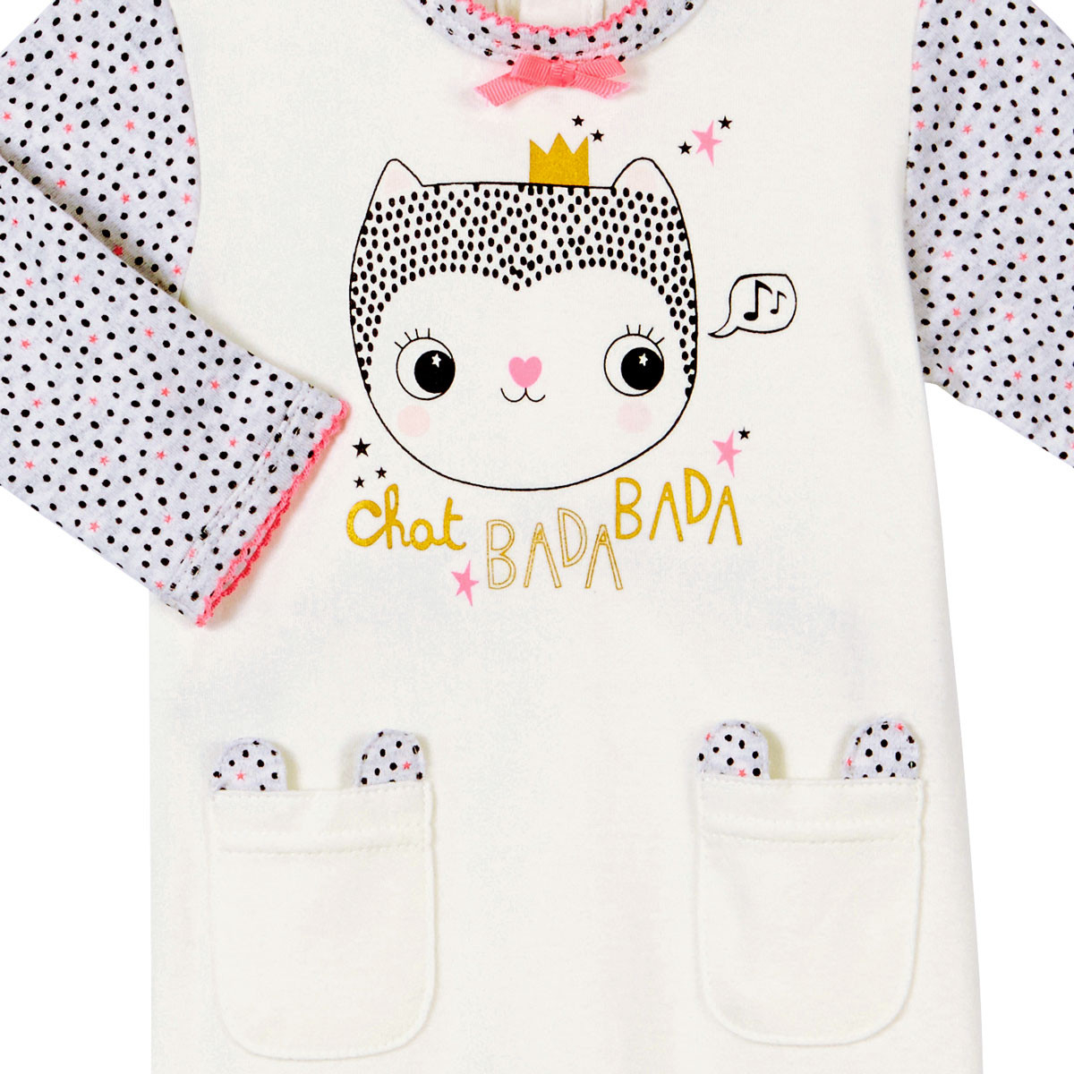 Pyjama bébé fille Chatbada