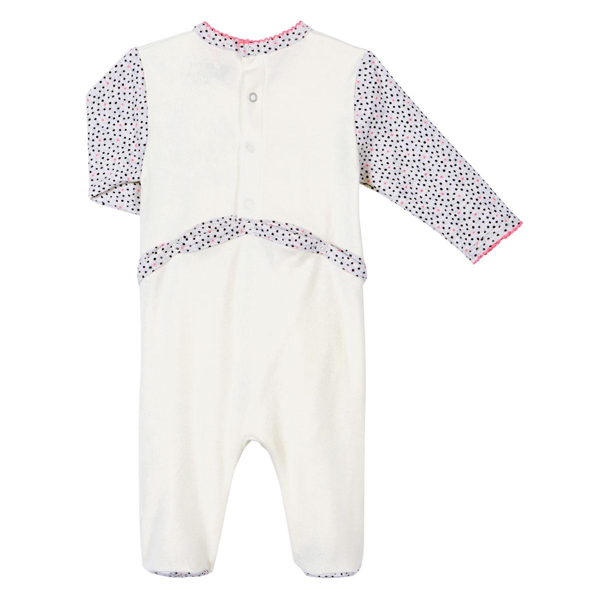 Pyjama bébé fille Chatbada dos