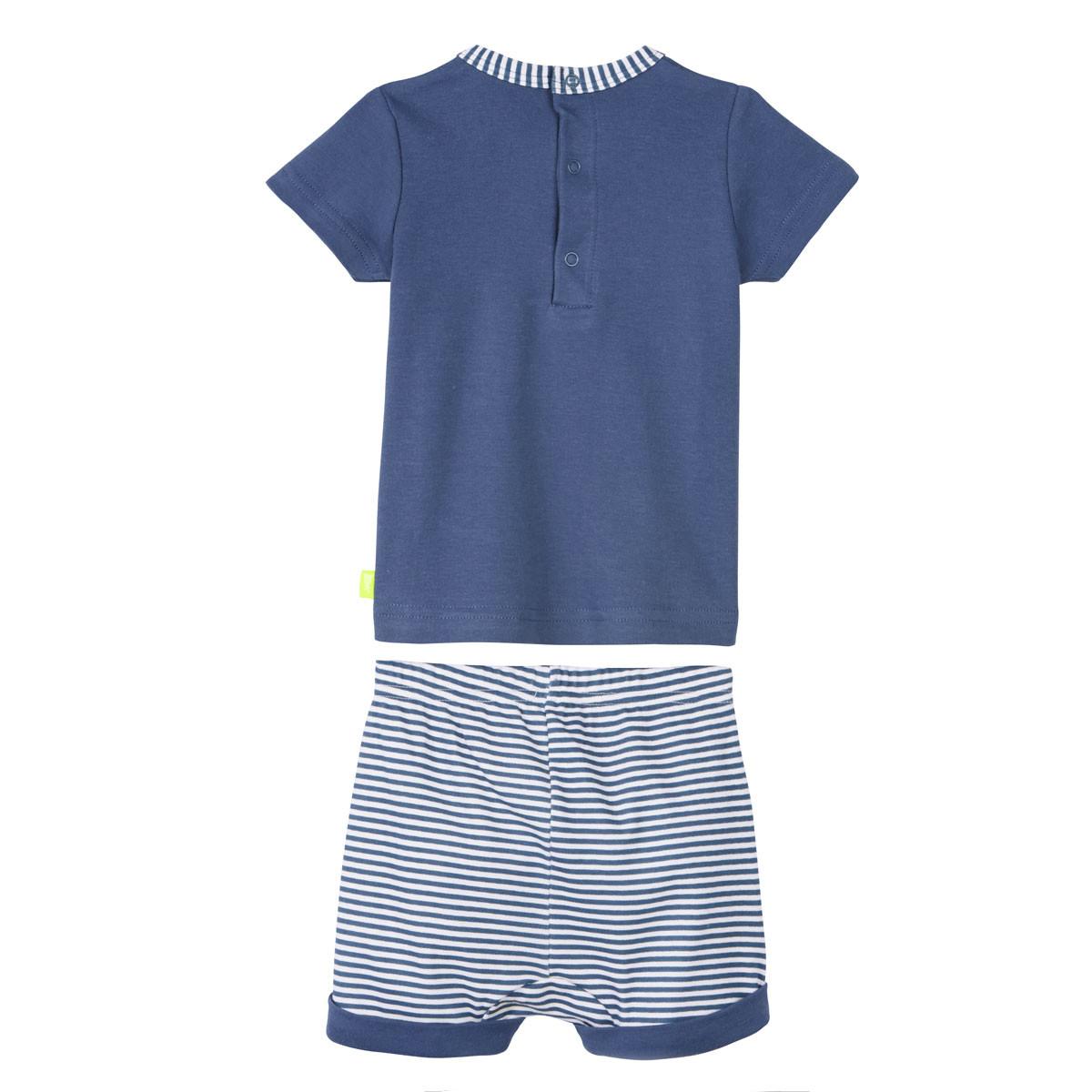 Ensemble bébé garçon t-shirt + short Baby Beach Club dos