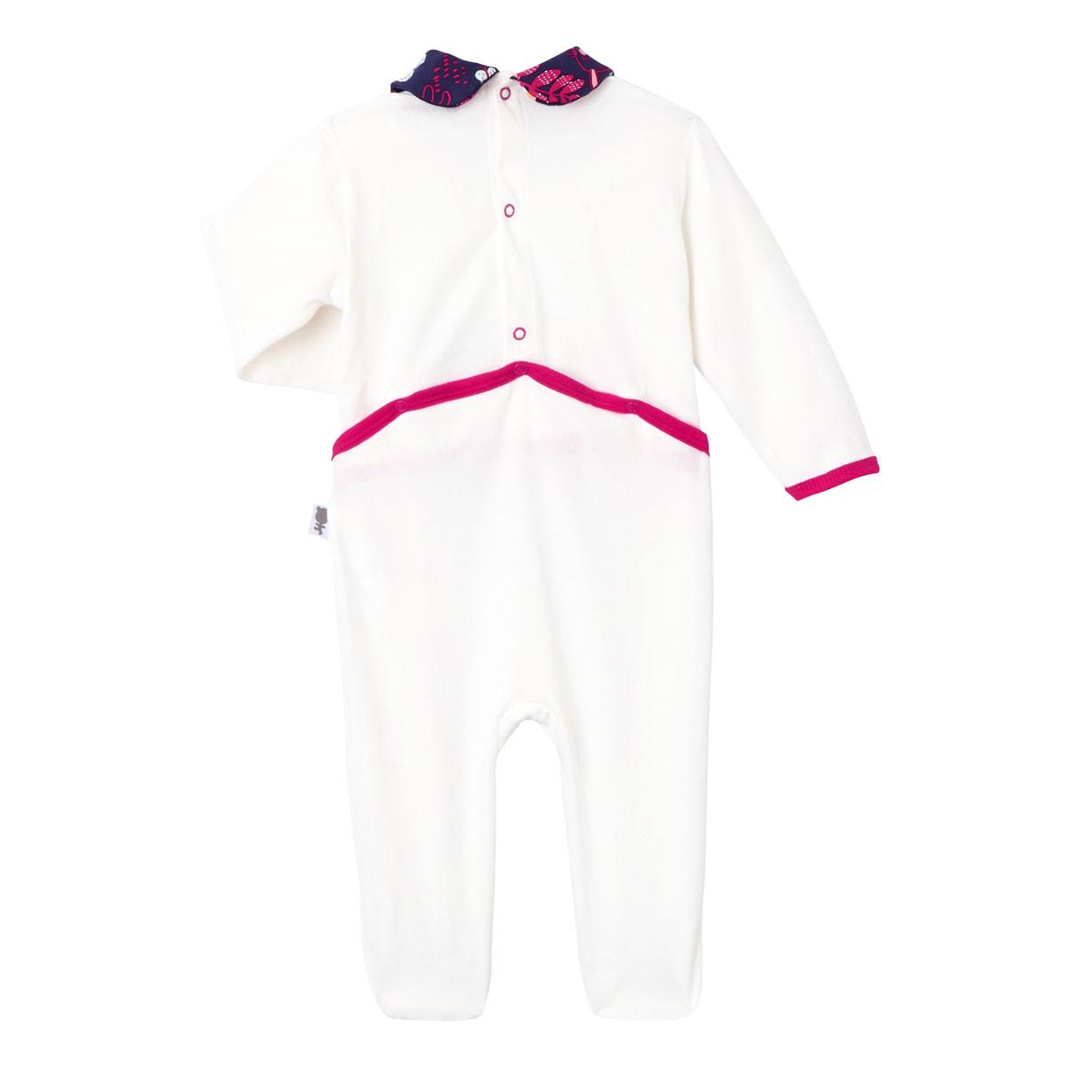 Pyjama bébé Pink Bunny dos