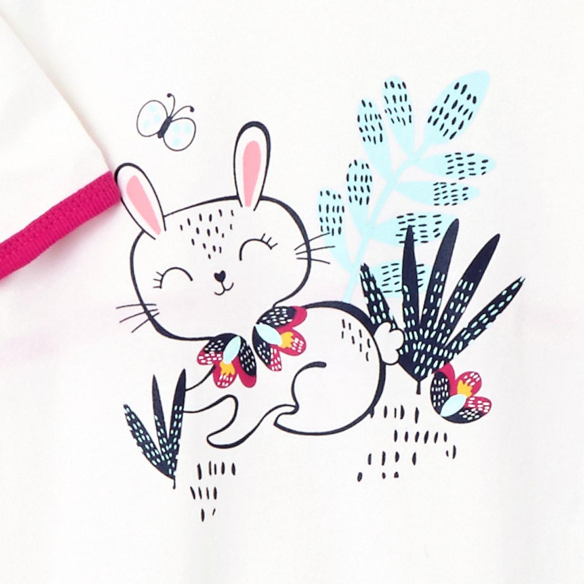 Pyjama bébé Pink Bunny lapin