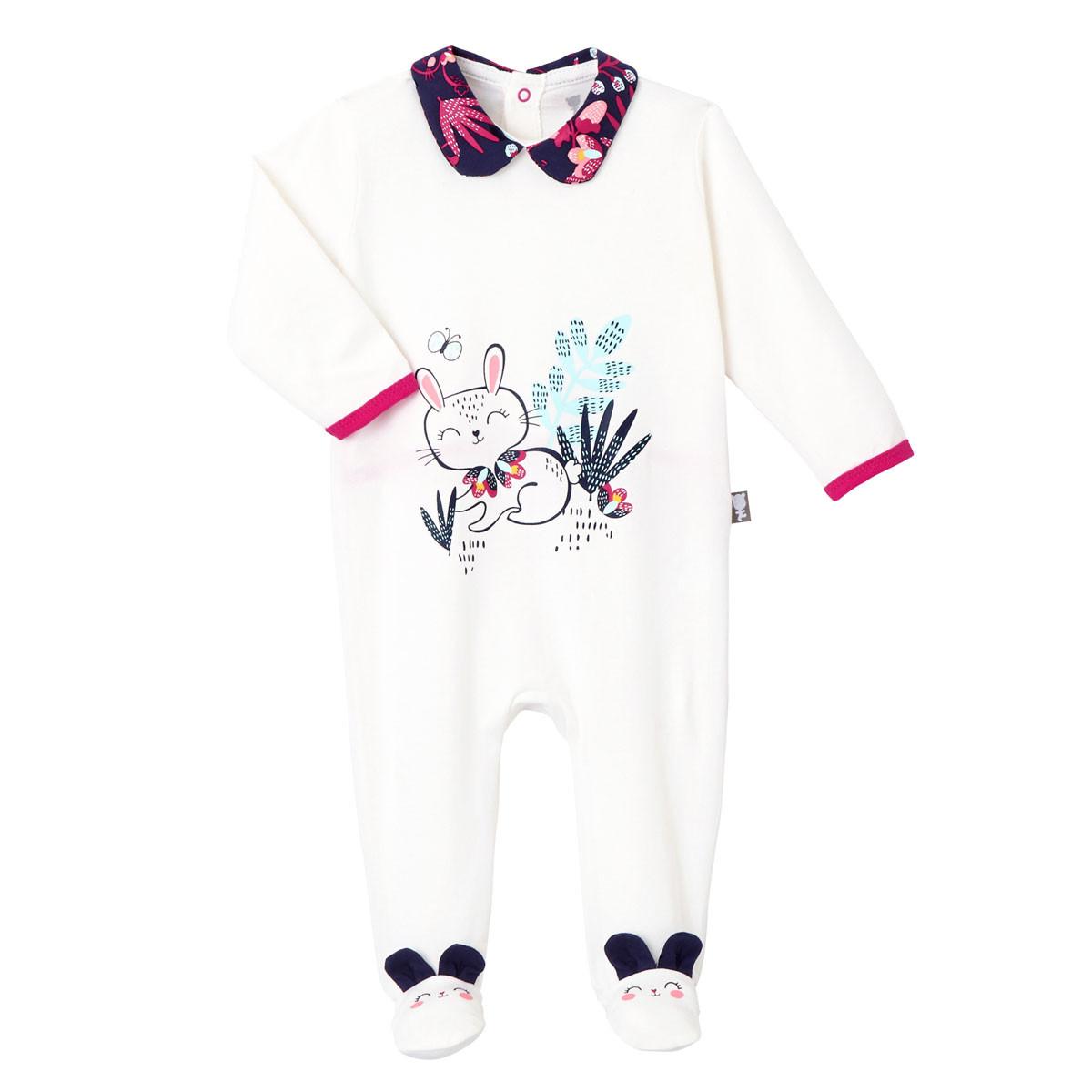 Pyjama bébé Pink Bunny