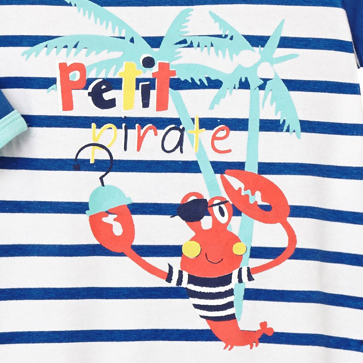 Pyjama bébé Pirate zoom