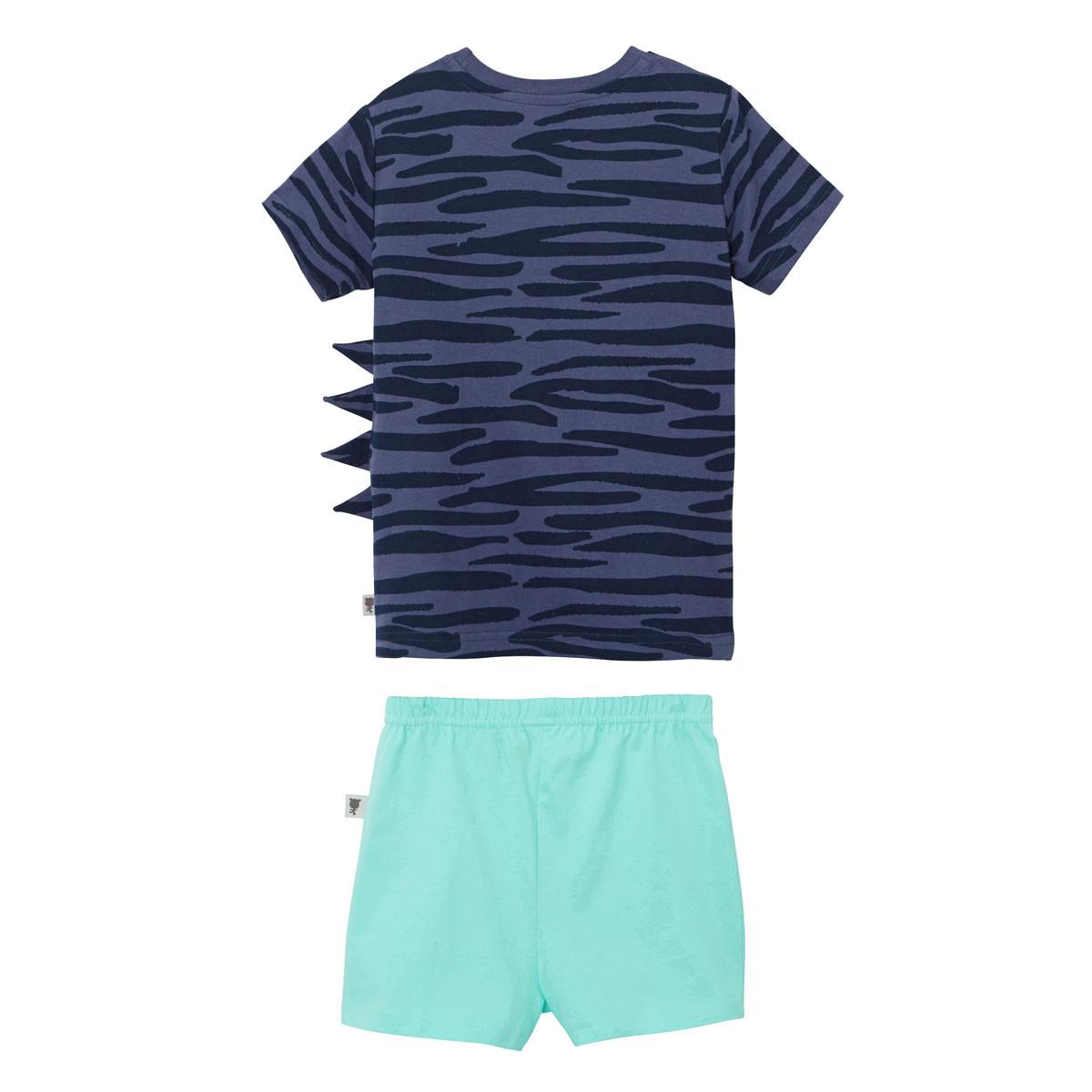Pyjama manches courtes garçon Super Biscotos dos