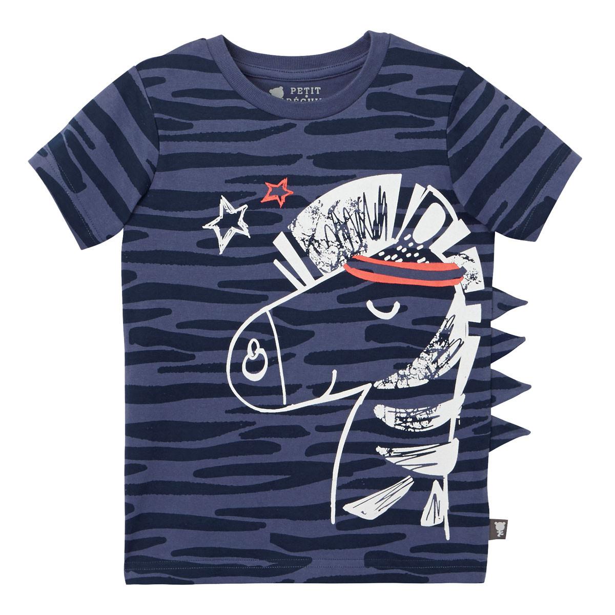 Lot de 2 pyjamas garçon Super Biscotos t-shirt à crête