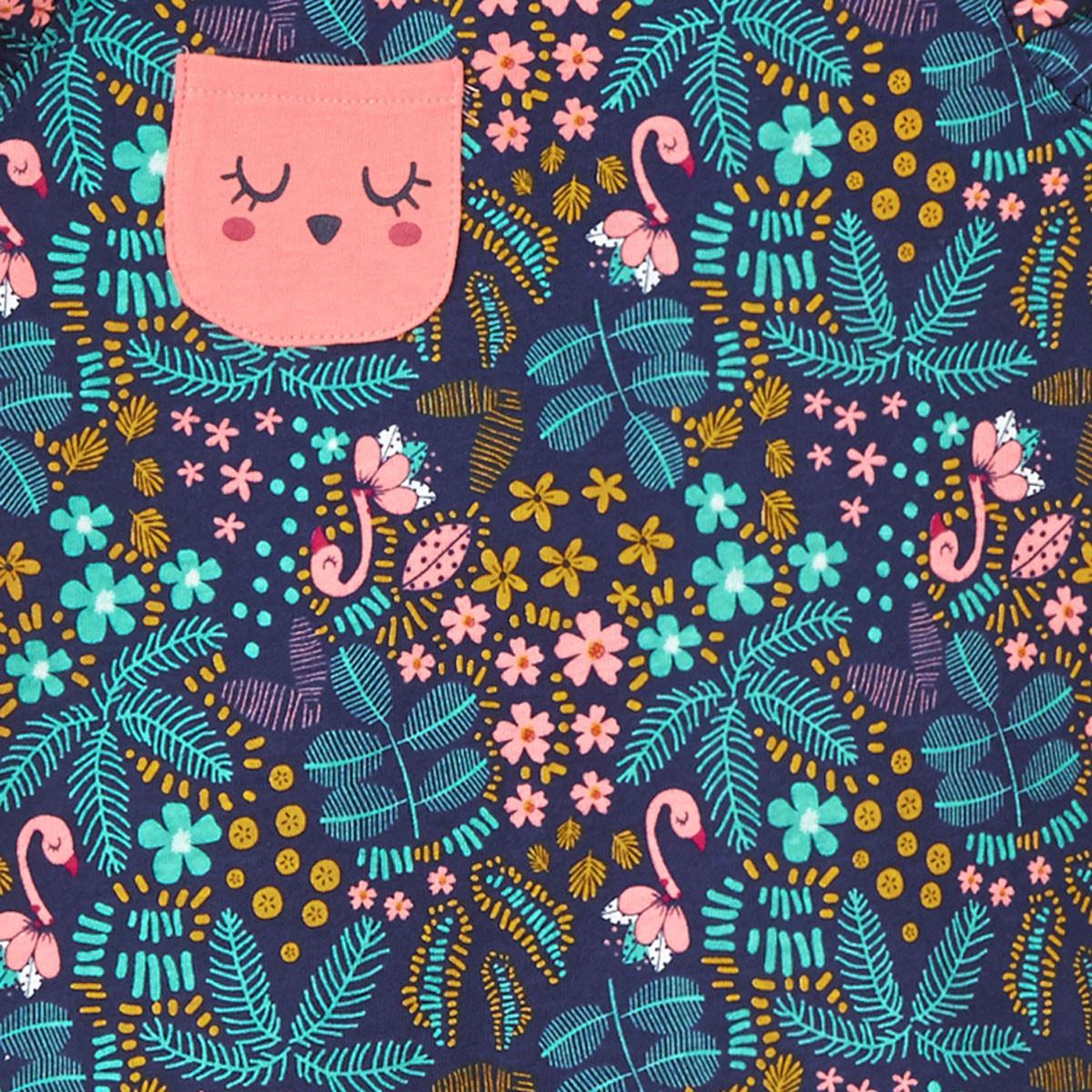 Pyjama fille Miss Blabla zoom poche