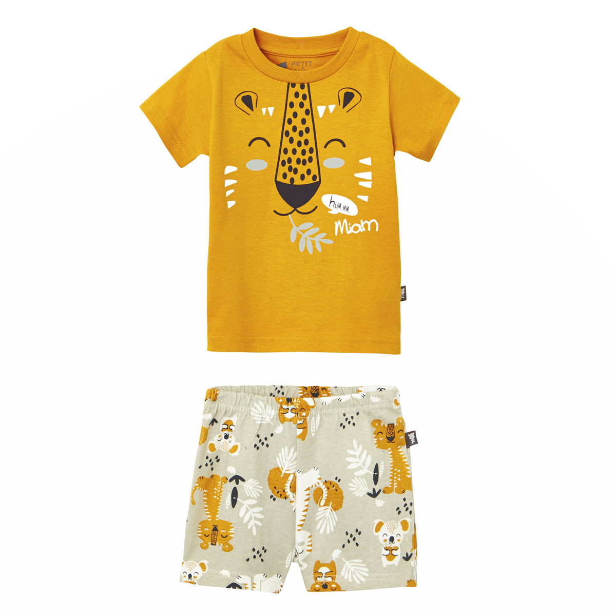 e16a21572e47b Pyjama manches courtes garçon Tigala - PETIT BEGUIN