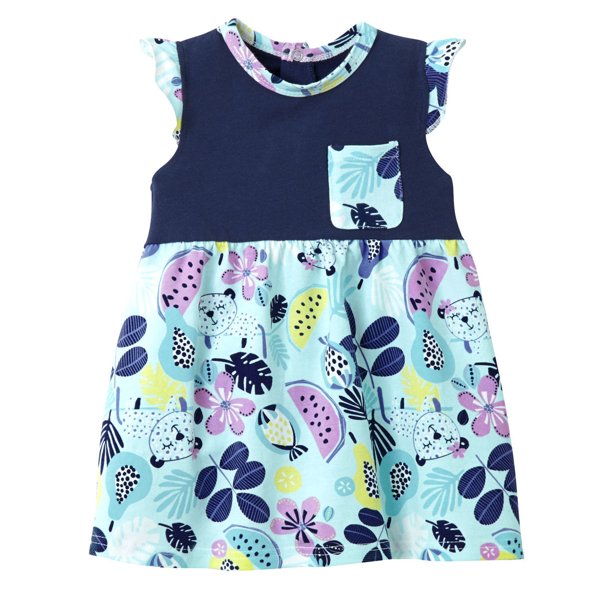 6efce09e4b1b1 Robe bébé fille Jungle Queen - PETIT BEGUIN