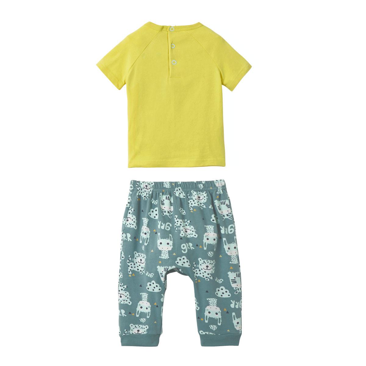 Ensemble bébé garçon t-shirt + sarouel Jumbe dos
