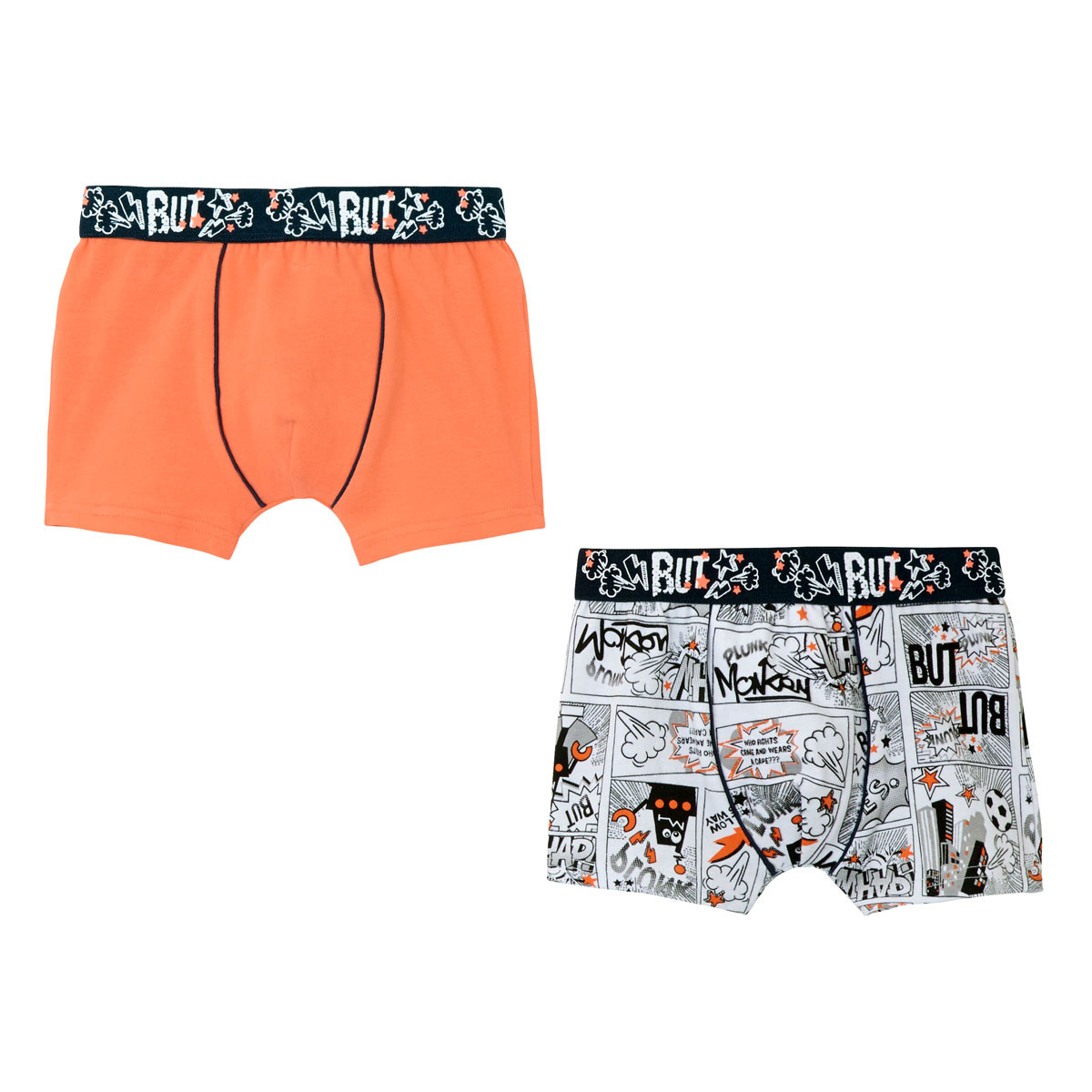 Lot de 2 boxers garçon Mr Robot