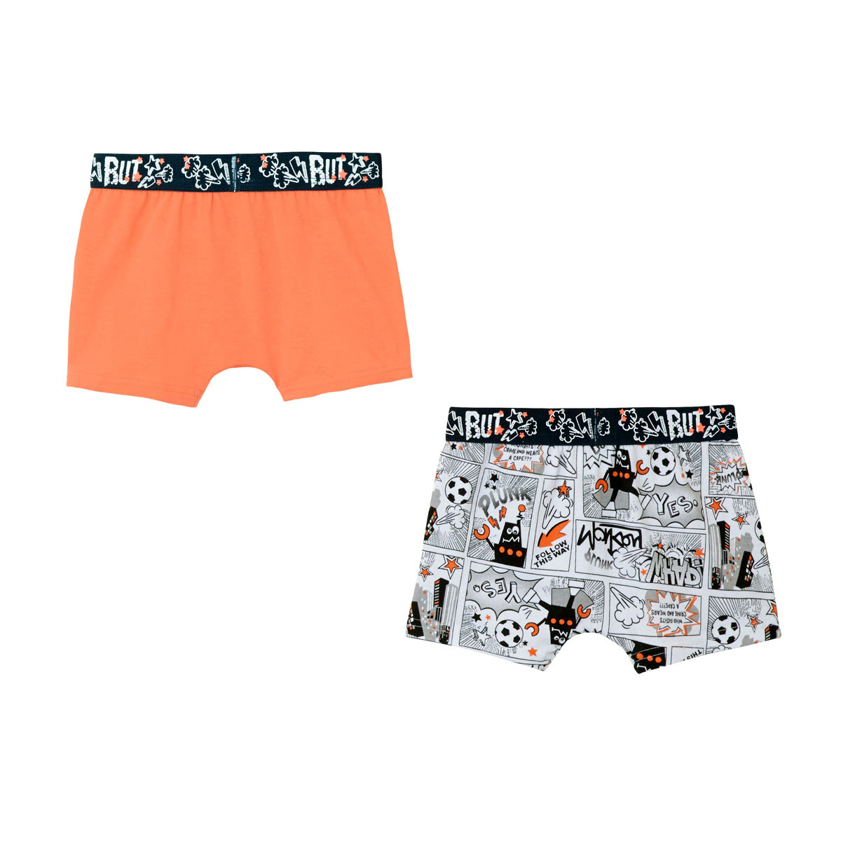 Lot de 2 boxers garçon Mr Robot dos
