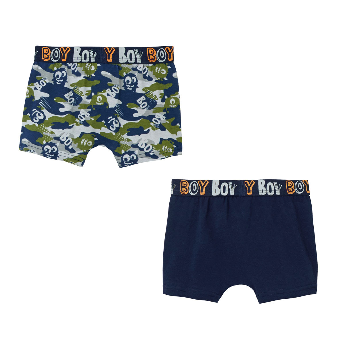 Lot de 2 boxers garçon Little Boy dos