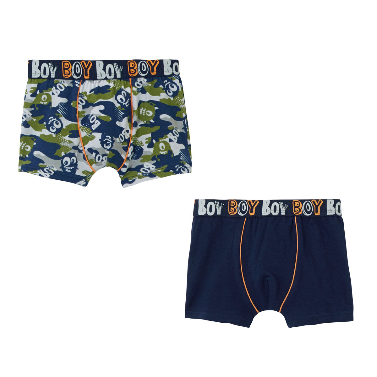 Lot de 2 boxers garçon Little Boy