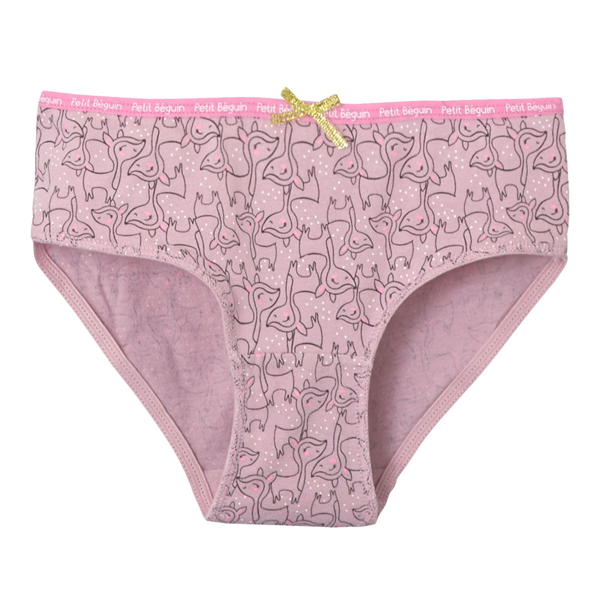 Culotte rose fille Happy Days