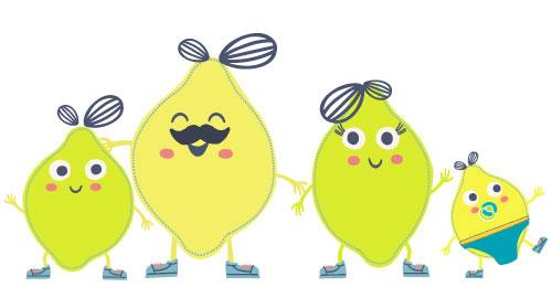 Famille citron